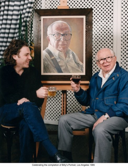 With Billy Wilder